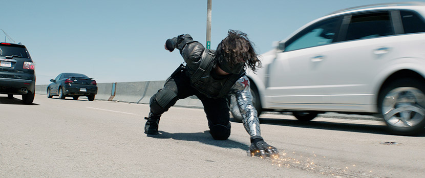 Captain America - The Winter Soldier: Key shots